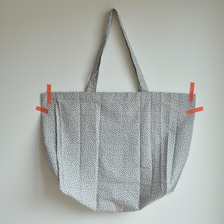 Leather pouch  + fabric tote | by // Between the Lines //