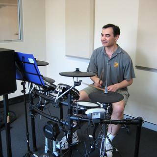 31/365 Drum lesson