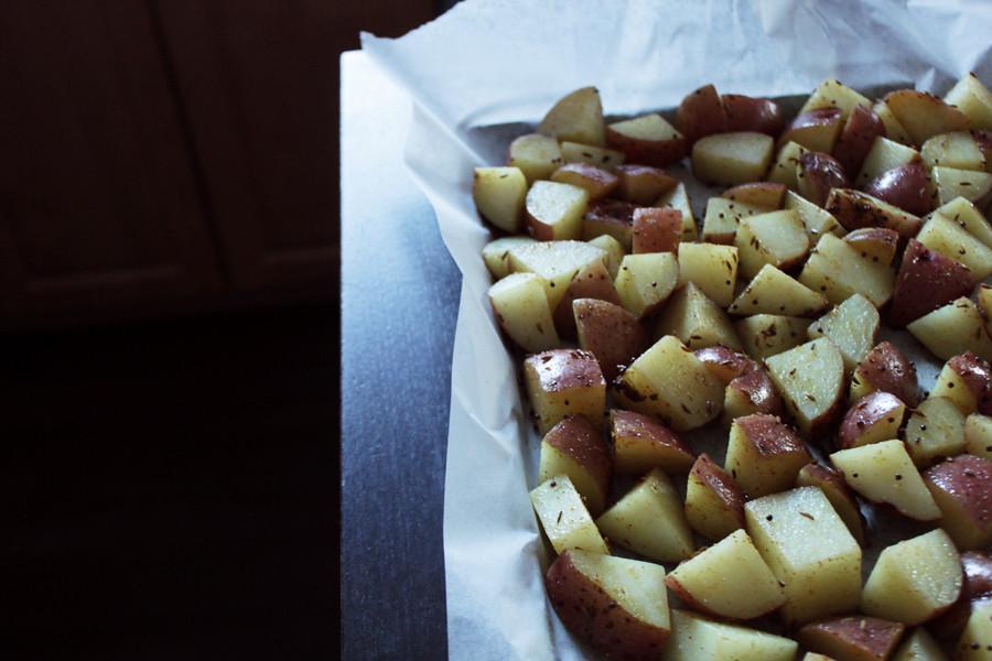 potatoes, spiced & ready to roast | Cumin & Mustard Seed ...