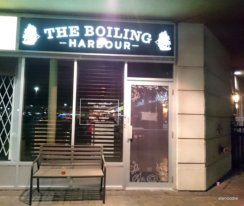 The Boiling Harbour storefront
