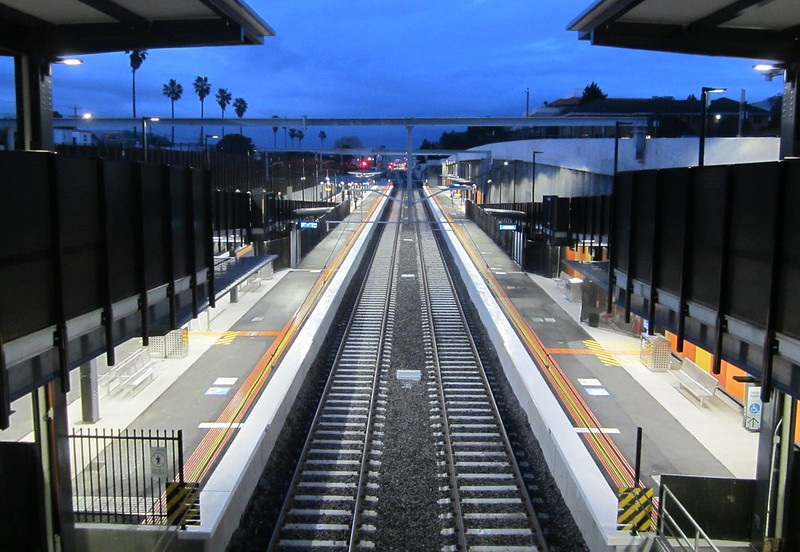 Bentleigh station, view from concourse