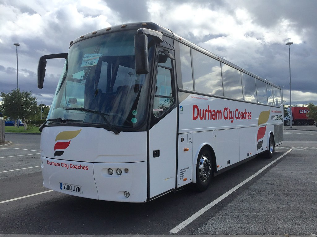 Durham City Coaches Yj10jyw Vdl Bova Fhd127 365 C53ft New Flickr
