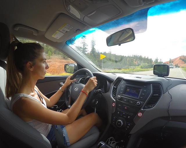 Conduciendo por la ruta de la Costa Oeste de Estados Unidos