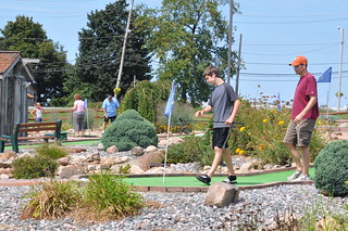 Benton and Tim on the Putt-Putt Course | by secondtree
