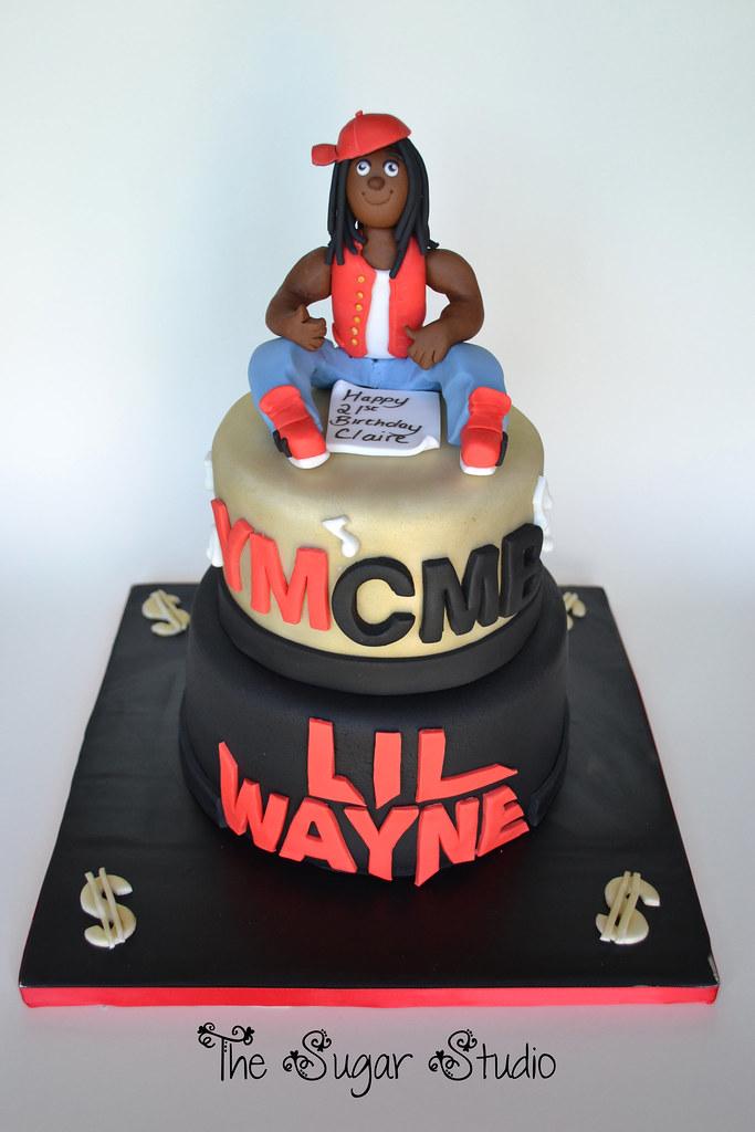Lil Wayne Cakes 2 tier Lil Wayne Birth...