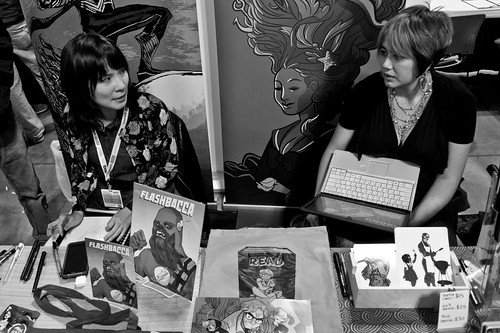 NYCC 2012: Ming and Erica and their wonderful table. | by Kevin Church