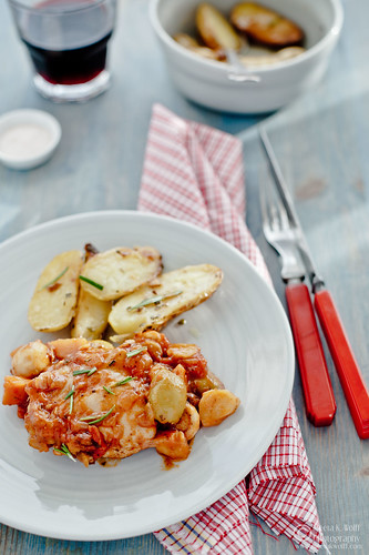 Pollo Alla Cacciatore-(00400) by Meeta K. Wolff | by Meeta Wolff @ What's For Lunch, Honey?