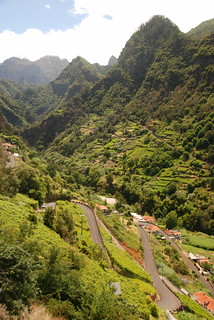 Village and Mountains near Santana, Madeira | by Martin Callum