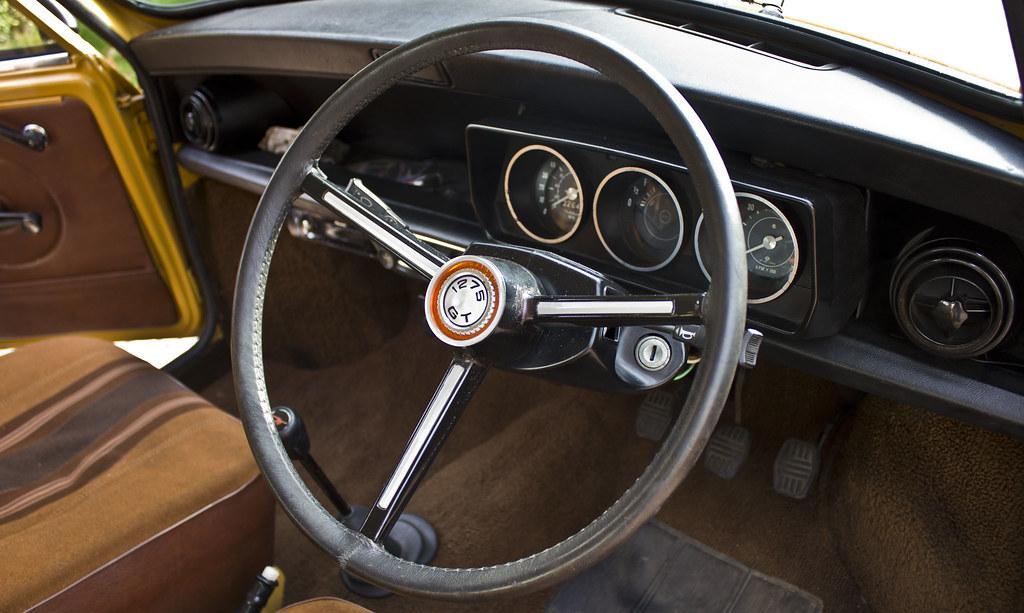 Steering Wheel Classic Mini Genuine 1275 Gt 1979