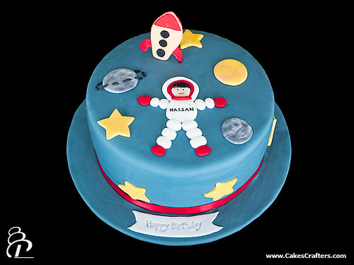 Astronaut Cake   Cakes Crafters (www.CakesCrafters.com ...