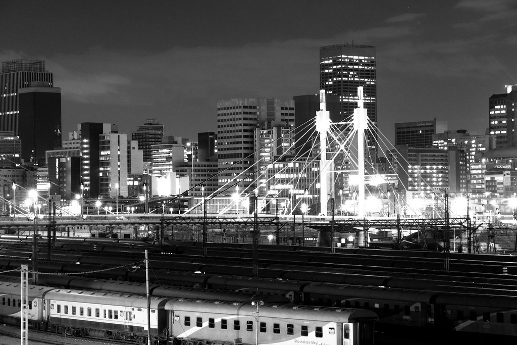 Black And White Photos Johannesburg