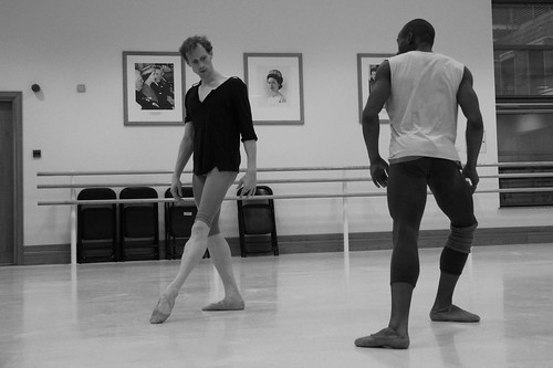 Edward Watson and Eric Underwood in rehearsals with Wayne McGregor | Random Dance © Chris Shipman/ROH | by Royal Opera House Covent Garden