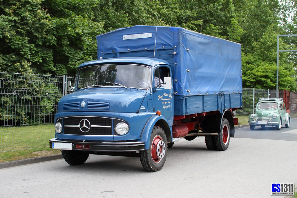 1959 1967 Mercedes Benz L 710 Georg Sander Flickr