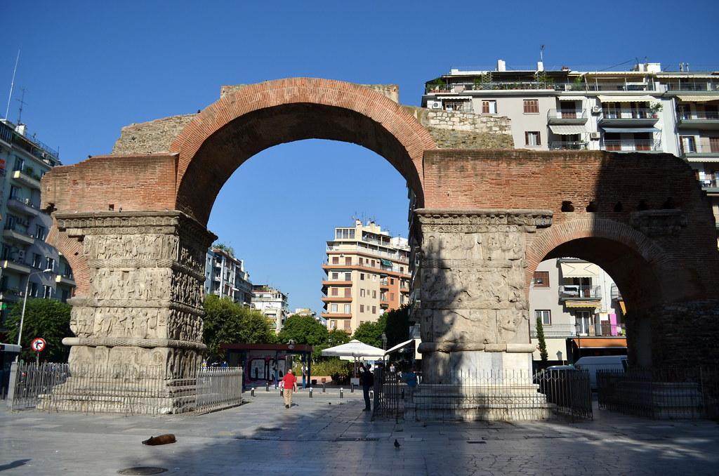 Arch of Galerius, Thessaloniki  Dan Diffendale  Flickr