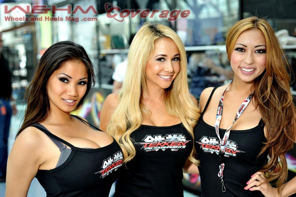 W&HM - Xena Kai + Megan Belet + Arika Sato @ Tekken 2012 E ...