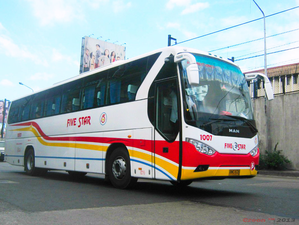 Five Star 1007 | Pangasinan Five Star Bus Company Bus ...