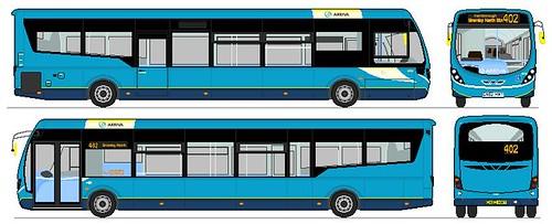 Wrightbus Streetlite Max Df 11 5m Arriva 4224 Gn62 Hm