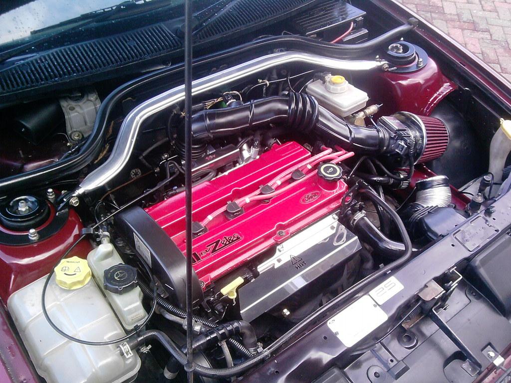 escort mk6 engine