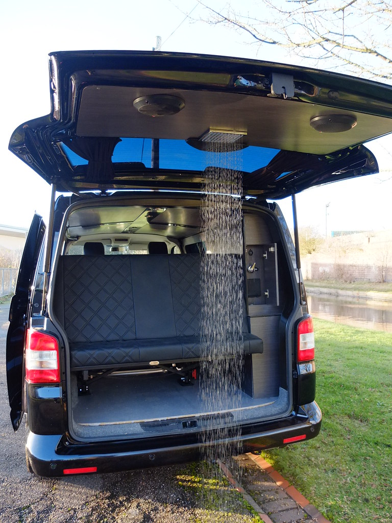 The Surf Shower Recessed Neatly In The Tailgate The