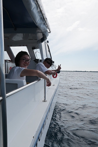 Zheng Tao and wife fishing for our dinner. Yes you can also ask if there's a fishing activity once you are done with snorkeling. Trust me, it is good to have more seafood on the dinner table. It is worth it.
