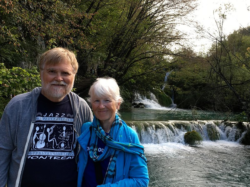 Bill and Betty at Plitvice Lakes IMG_1300