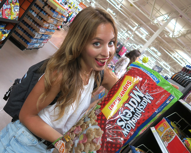 Visita a un supermercado de Estados Unidos, de las cosas más chulas que ver en la Costa Oeste