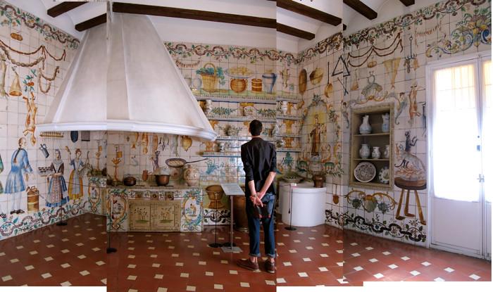 La cocina valenciana siglo xviii del museo de artes deco for Cocina valenciana
