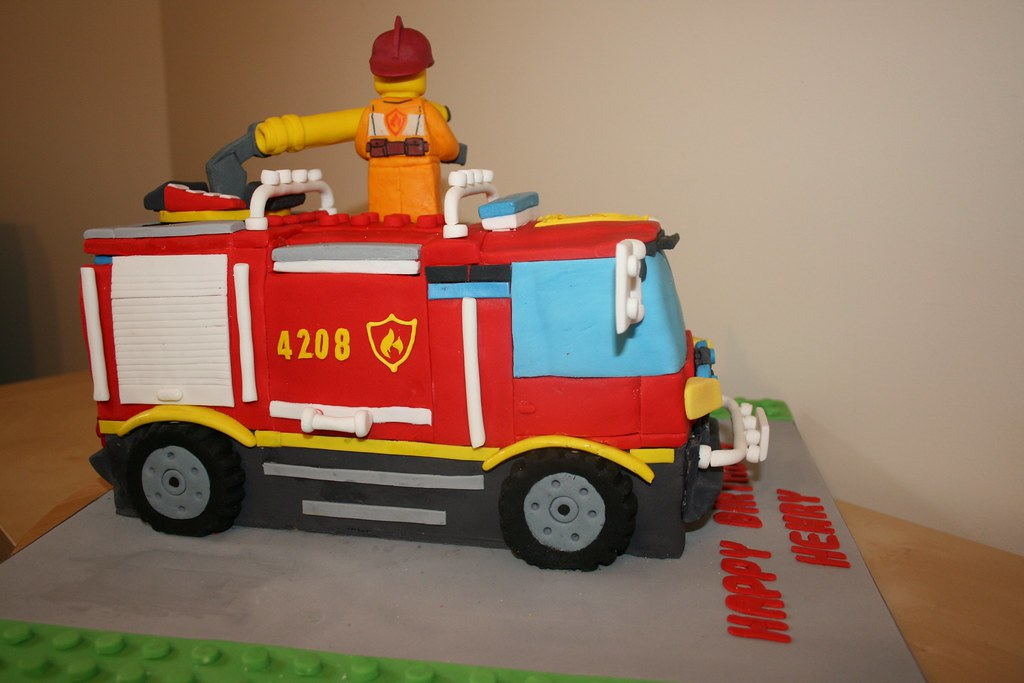 Lego City Birthday Cake Them
