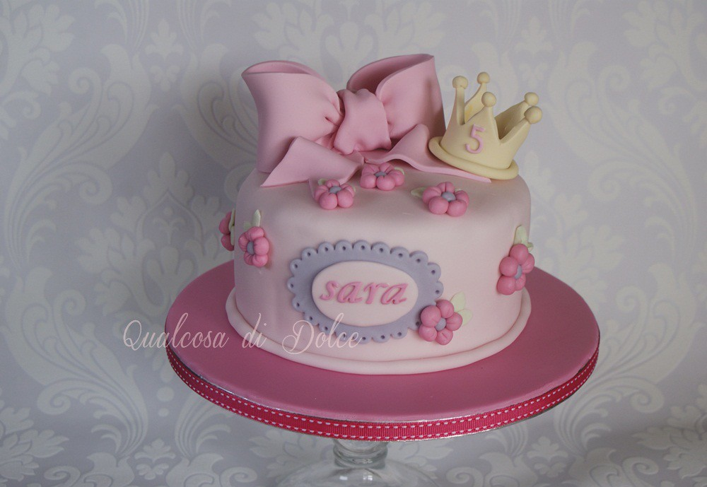 Sara S Birthday Cake By Qualcosa Di Dolce