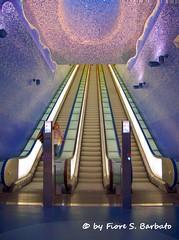Napoli (NA), 2012, Metropolitana, Stazione Toledo. by Fiore S. Barbato