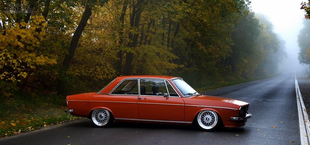 autumn .. Audi 100LS-A | -Grounded- 1974 2 door Audi 100LS ...