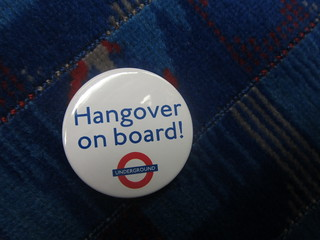 Hangover on Board Badge | by Annie Mole