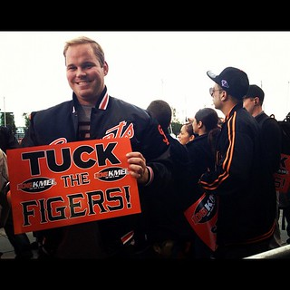 Tuck the figers #giants #worldseries | by calitexican