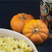 Pumpkin Spaetzle with Leeks
