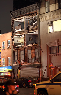 Hurricane Sandy took off the face of this building | by ccho