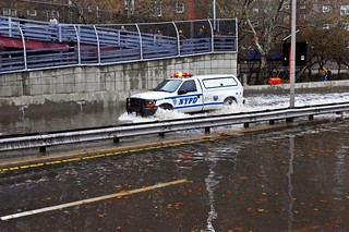 Hurricane Sandy NYPD FDR Flood 2012 2 | by david_shankbone