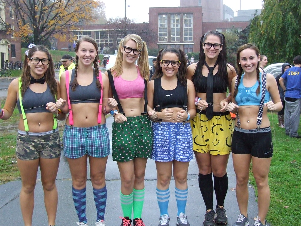 Students Run Nearly Naked Mile For Charity - OStateTV