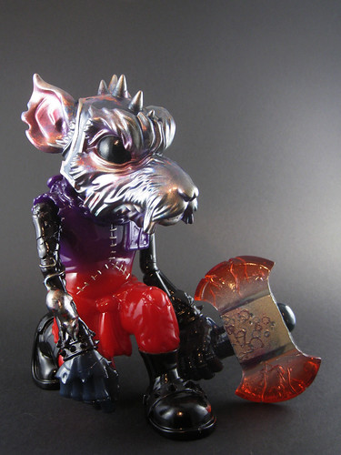 Sutfin Mad Battle Rat | by toybot studios