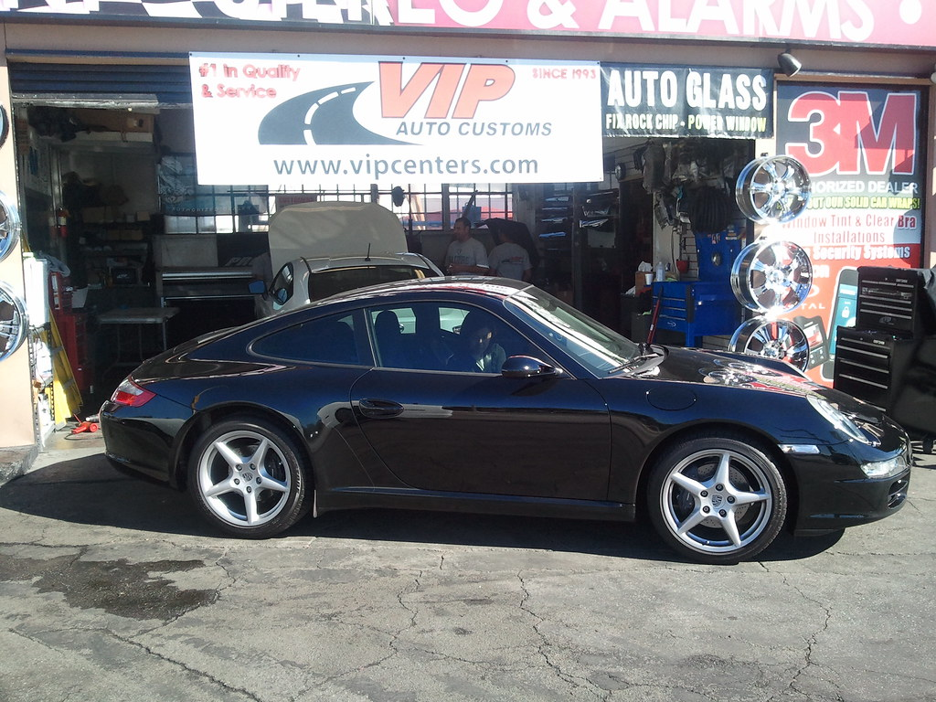 Complete color stable 35 percent window tint new porsche for 18 percent window tint