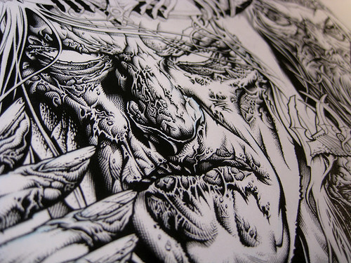 SutfinLOTR_InkWIP_Naz1Detail | by Mike Sutfin