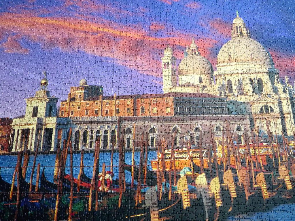 S.Marco-Venice Clementoni 4000 piece puzzle | Piecefull | Flickr