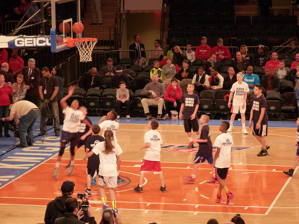 Cyo Kids Play At Madison Square Garden January 27 2013 Du Flickr