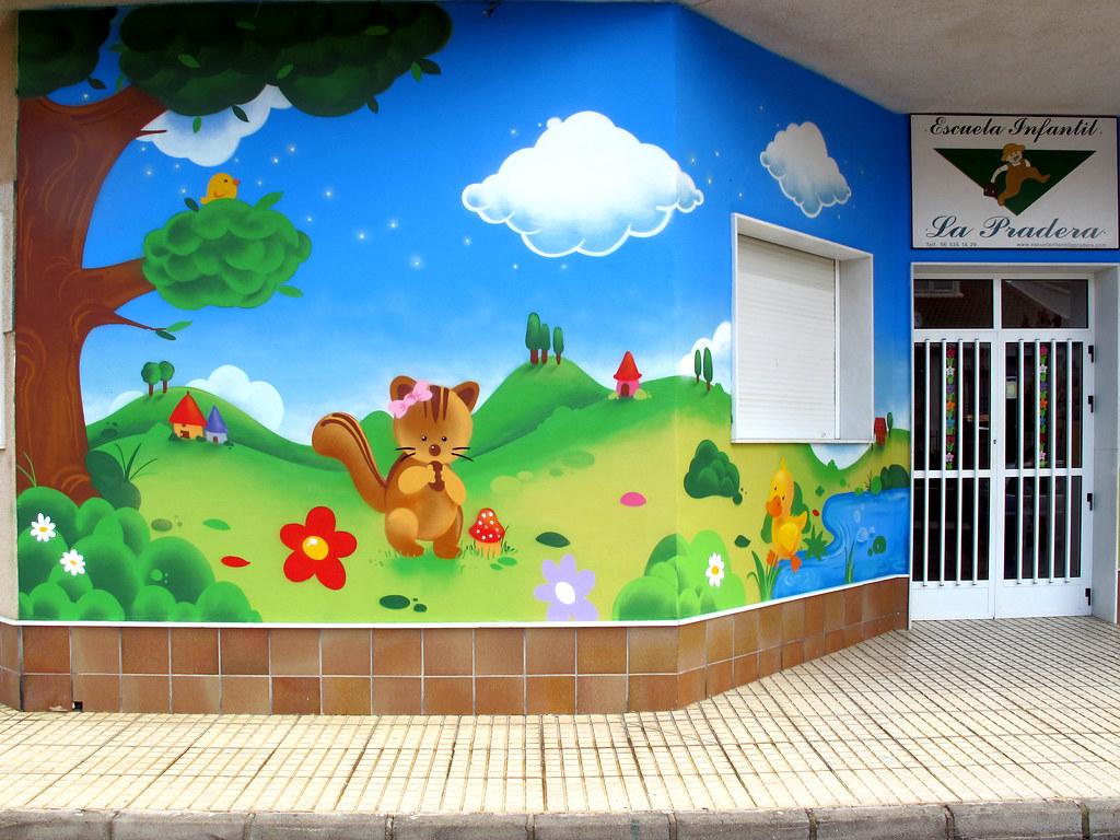 Escuela infantil la pradera pida presupuesto y compare - Decoracion infantil paredes ...