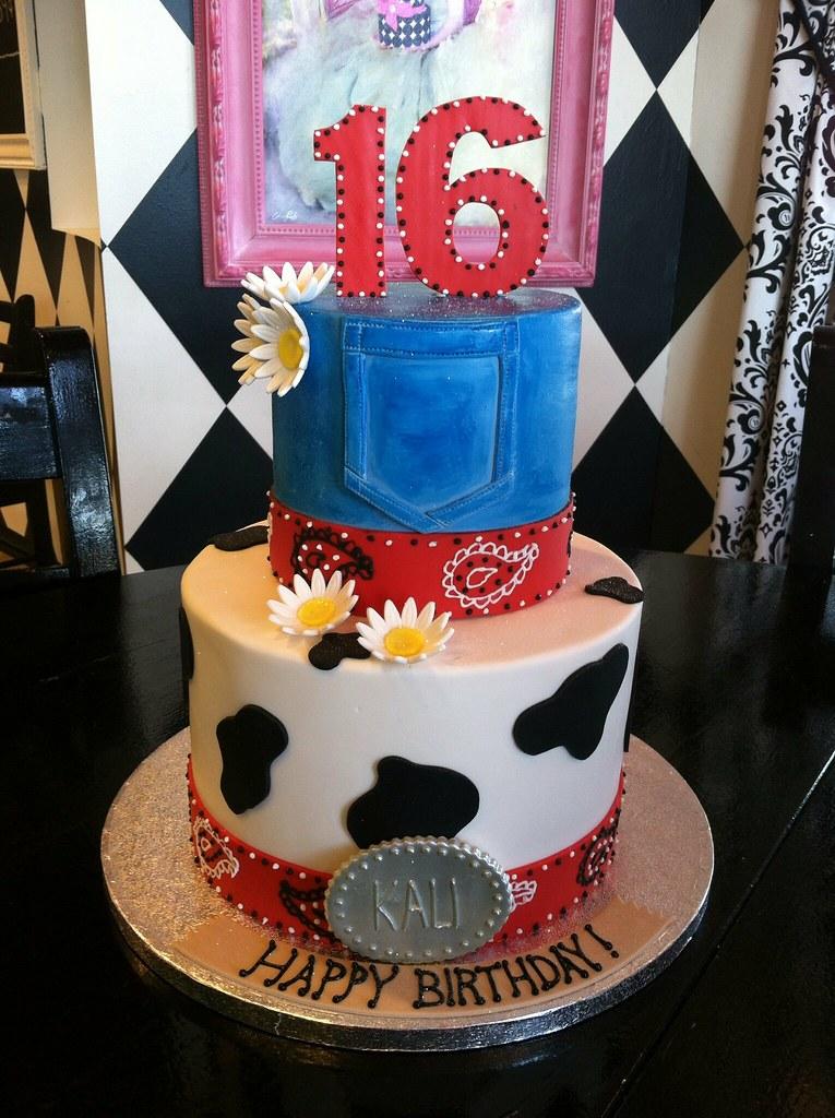 Western Theme Birthday Cake April Flickr
