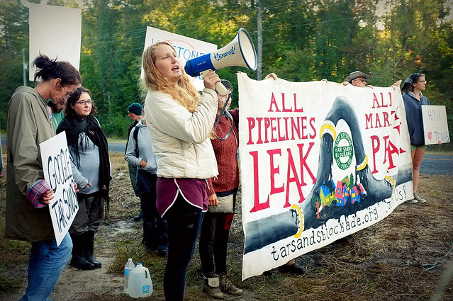 photo of Tar Sands Blockade
