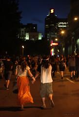 Manifestation étudiante - Montréal