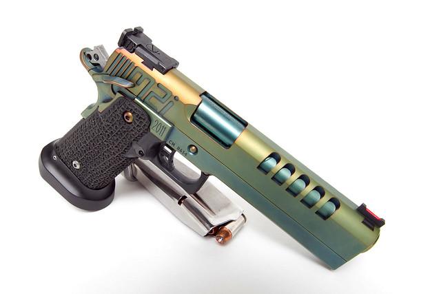 "M2i 1911 STi Custom Race Gun ""The Green Goblin"""