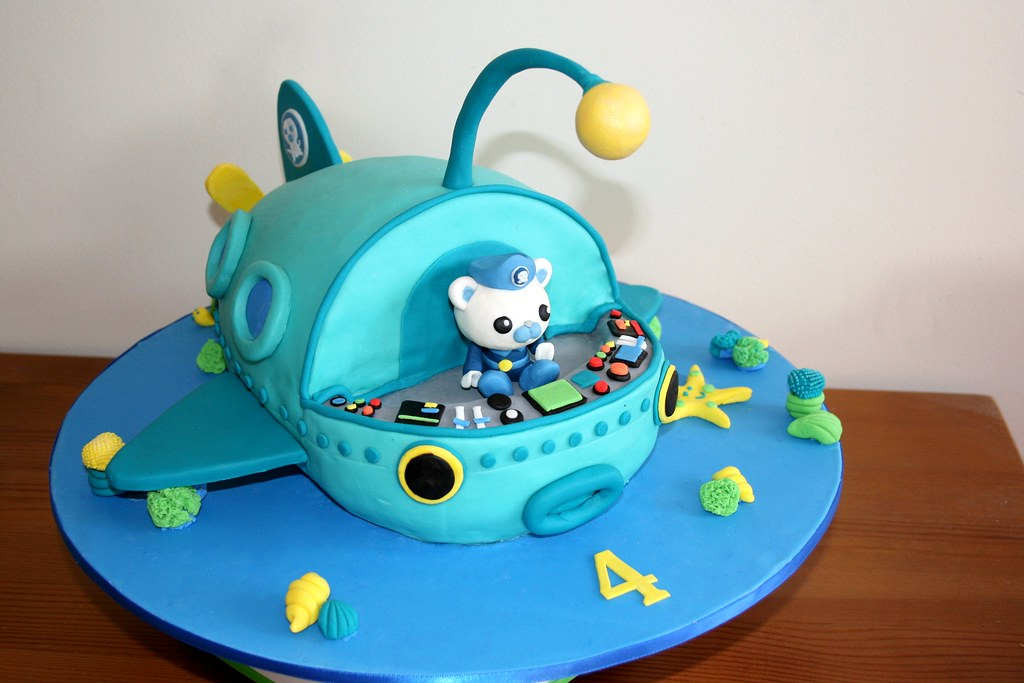 How To Make An Octonauts Cake