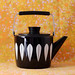 Black Cathrineholm Teapot