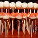 Orange Glittered Cake Pops